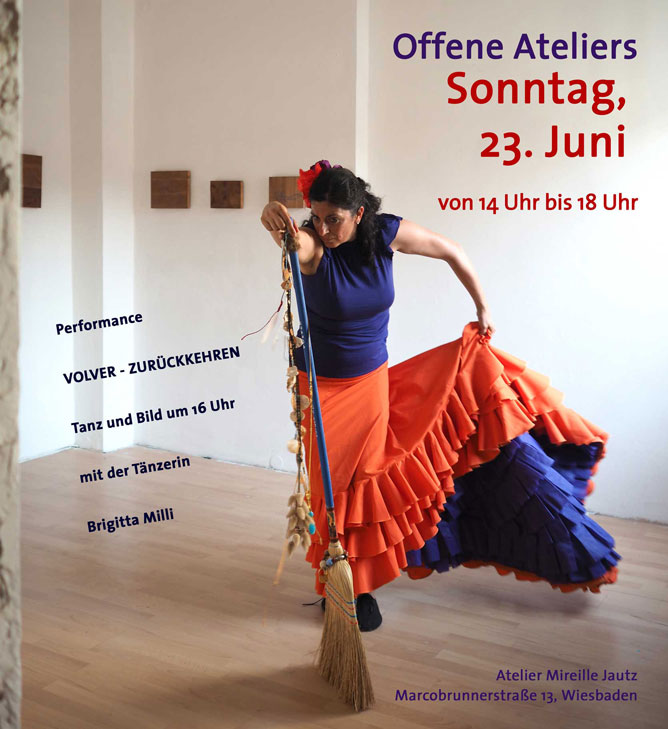 Offene Ateliers, Volver, Performance