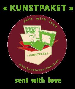 Kunstpaket - sent with love
