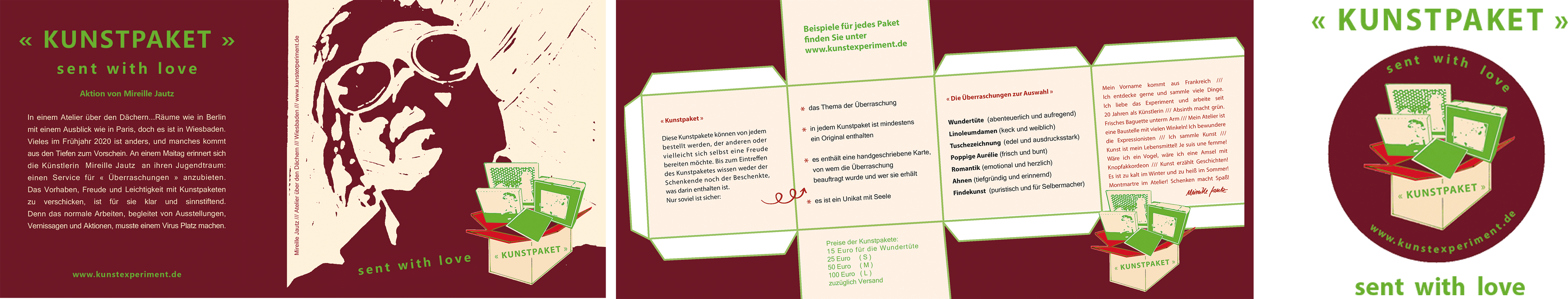 Kunstexperiment flyer